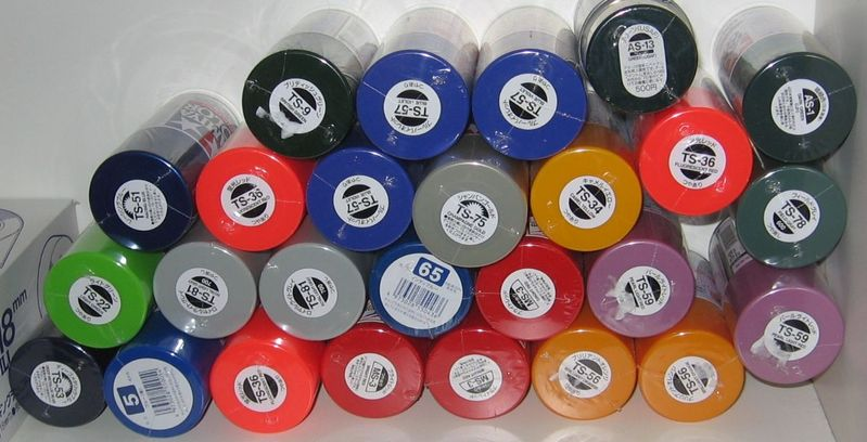 Tamiya S Ts Lacquer Spray Paints Romsey Modellers